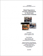 ModelRegulationsandPlanAmendmentsforMTDs